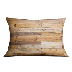 Wood texture Cushion - Canvas Art Rocks - 4