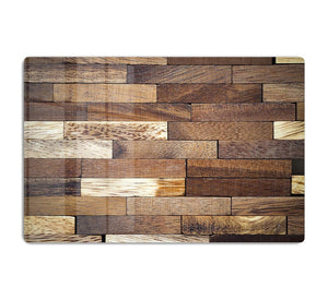 Wooden bars parquet HD Metal Print - Canvas Art Rocks - 1