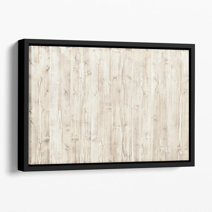 Wooden texture light wood Floating Framed Canvas