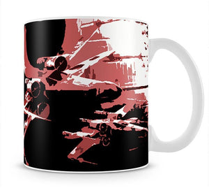 X Wing Star Wars Mug - Canvas Art Rocks - 1