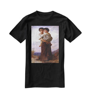 Young Gypsies By Bouguereau T-Shirt - Canvas Art Rocks - 1