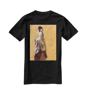 Young lady in the road costume by Degas T-Shirt - Canvas Art Rocks - 1