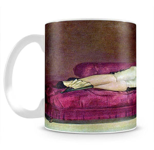 Young woman in Spanish dress by Manet Mug - Canvas Art Rocks - 2