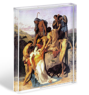 Zenobia 1850 By Bouguereau Acrylic Block - Canvas Art Rocks - 1