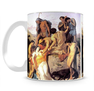 Zenobia 1850 By Bouguereau Mug - Canvas Art Rocks - 2