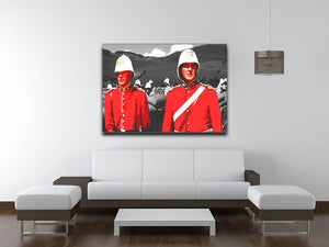 Zulu Soldiers Canvas Print & Poster - US Canvas Art Rocks