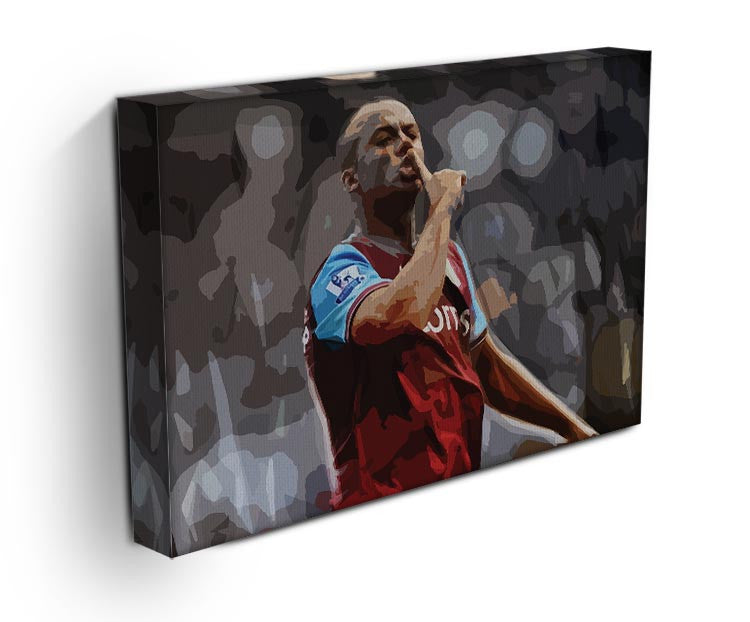 Agbonlahor Aston Villa Print - Canvas Art Rocks - 3