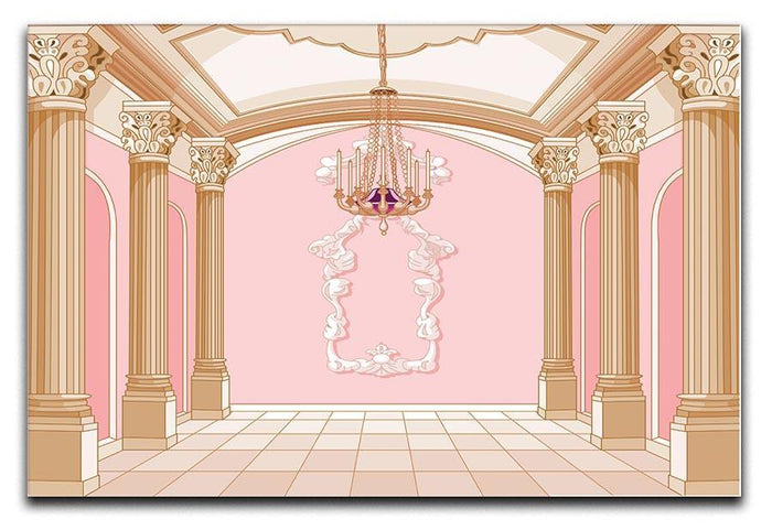 ballroom of magic castle Canvas Print or Poster