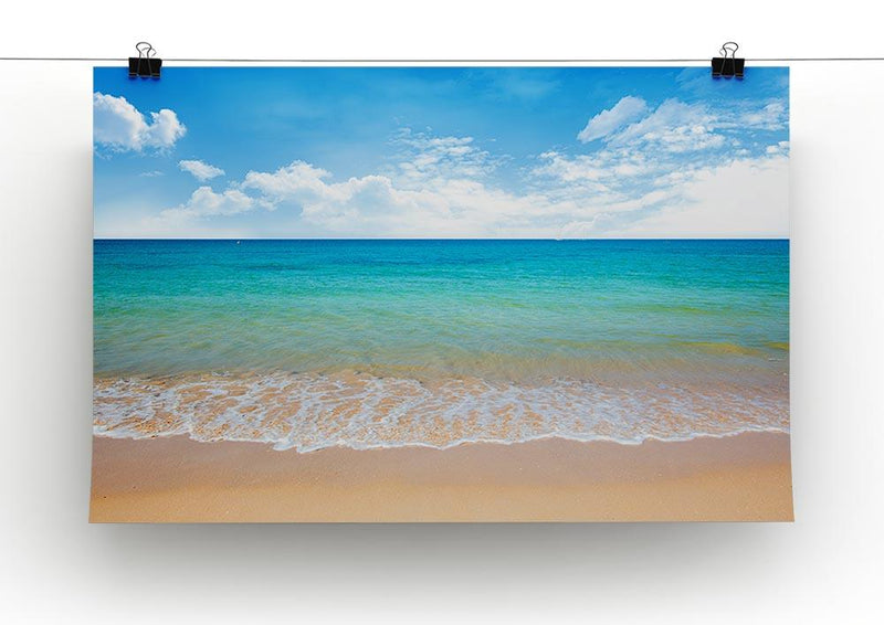 beach and tropical sea Canvas Print or Poster - Canvas Art Rocks - 2