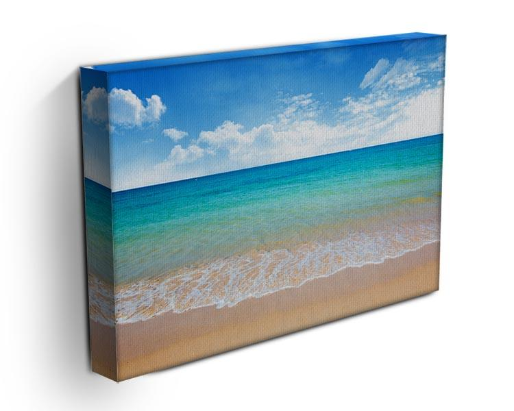 beach and tropical sea Canvas Print or Poster - Canvas Art Rocks - 3