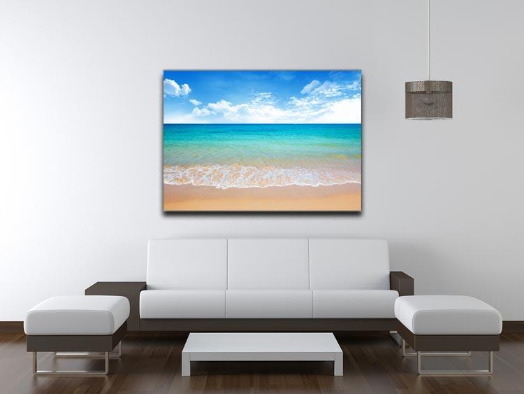 beach and tropical sea Canvas Print or Poster - Canvas Art Rocks - 4