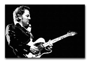 Bruce Springsteen Print - Canvas Art Rocks - 1