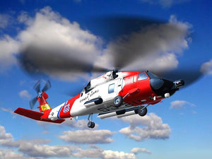 helicopter coast guard Wall Mural Wallpaper - Canvas Art Rocks - 1