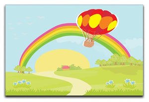 hot air balloon Canvas Print or Poster  - Canvas Art Rocks - 1