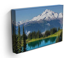 lake and Glacier Peak Canvas Print or Poster - Canvas Art Rocks - 3