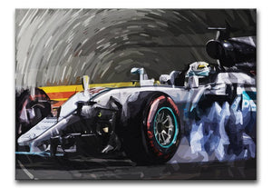 Lewis Hamilton Formula 1 Print - Canvas Art Rocks - 1