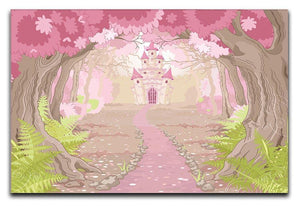 magic fairy tale princess castle Canvas Print or Poster  - Canvas Art Rocks - 1