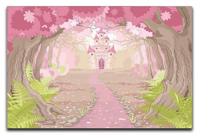 magic fairy tale princess castle Canvas Print or Poster