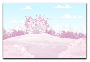 magic princess castle Canvas Print or Poster  - Canvas Art Rocks - 1