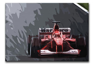 Michael Schumacher Formula 1 Print - Canvas Art Rocks - 1