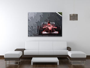 Michael Schumacher Formula 1 Print - Canvas Art Rocks - 4
