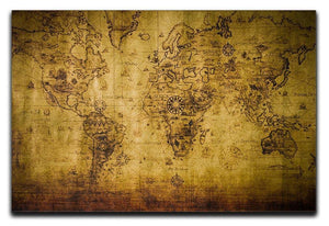 old map Canvas Print or Poster  - Canvas Art Rocks - 1