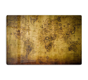 old map HD Metal Print