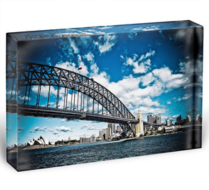 the bridge Acrylic Block - Canvas Art Rocks - 1
