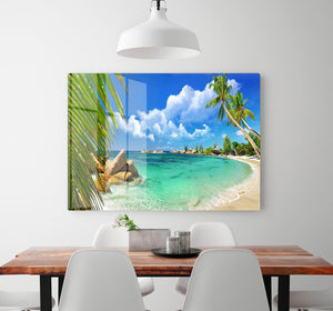tropical paradise HD Metal Print - Canvas Art Rocks - 2