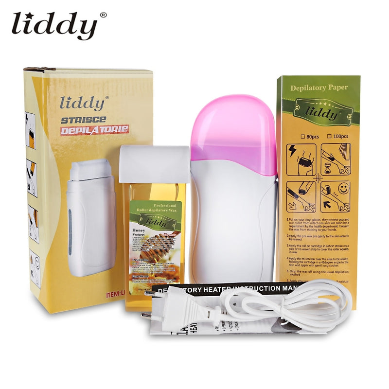 Liddy 3 In 1 Depilatory Hair Removal Wax Wet Wax Strips For Hair