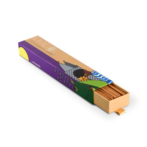 Phool Lavender Incense Sticks