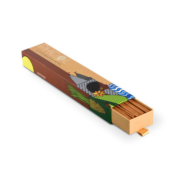 Phool Vetiver Incense Sticks