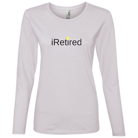 iRetired Women's Long Sleeve