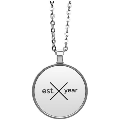Established In YOUR BIRTH YEAR Necklace