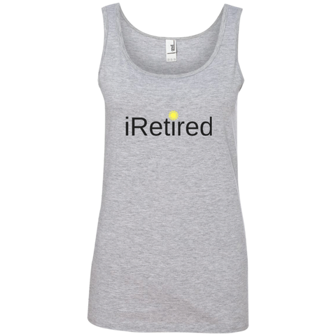 iRetired Women's Tank Top