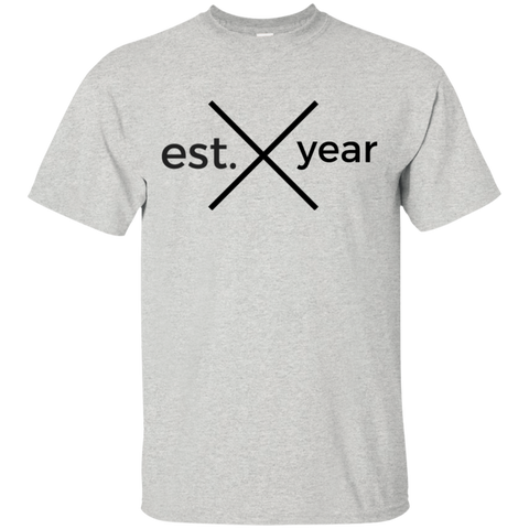 Established In YOUR BIRTH YEAR T-Shirt