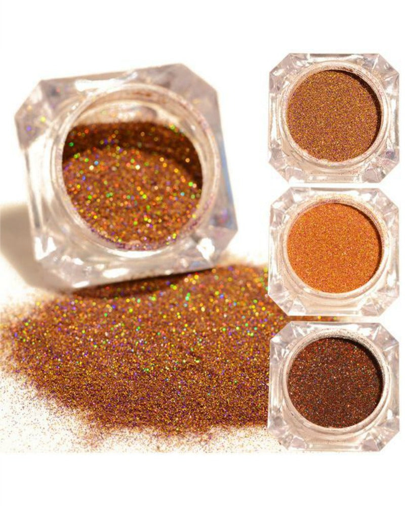 Nail Glitter Dust - Fall Colors - Doll Nation