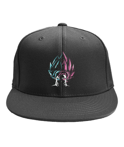 Casquette Goku and Black 6-Panel Classic Snapback