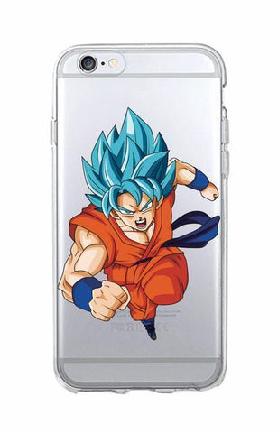 Coque Goku Ssj Blue Dragon Ball Z I Phone Et Samsung