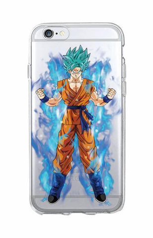 Coque Goku Ssj Bluedragon Ball Z I Phone Et Samsung