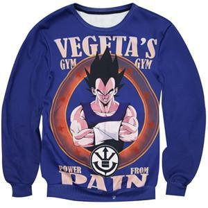 Pull Training Vegeta Dragon Ball Z