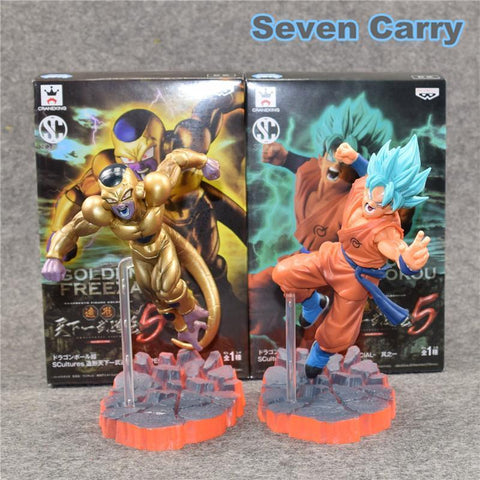Replique Figurines 2 Pièces Goku Vs Freezer Dragon Ball Z