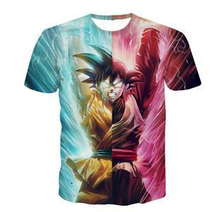 T Shirt Goku Vs Black Dragon Ball Super