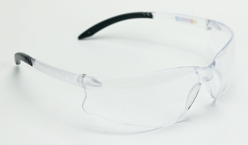 NASCAR GT by Encon Safety Glasses with Clear P/C Lens ScatchCoat Z87.1
