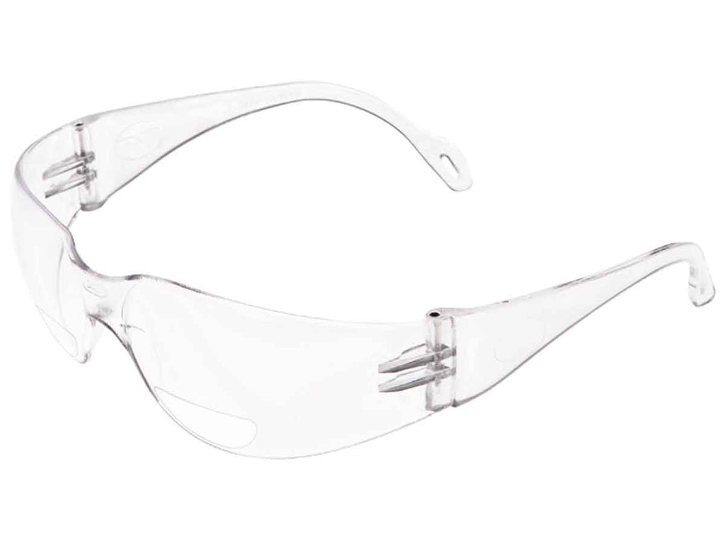 Encon Veratti 2000 Bifocal Safety Glasses, Clear lens, 1.0 to 3.0 Magnification