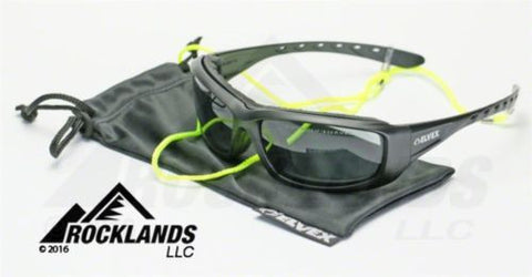 Elvex GoSpecs Pro™ Anti Fog Safety Glasses Gray Ballistic Rated Lens Z87.1