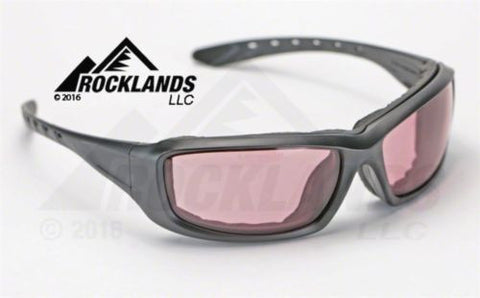 Image of Elvex GoSpecs Pro™ Anti Fog Safety Glasses Copper Blue Blocking Ballistic Lens