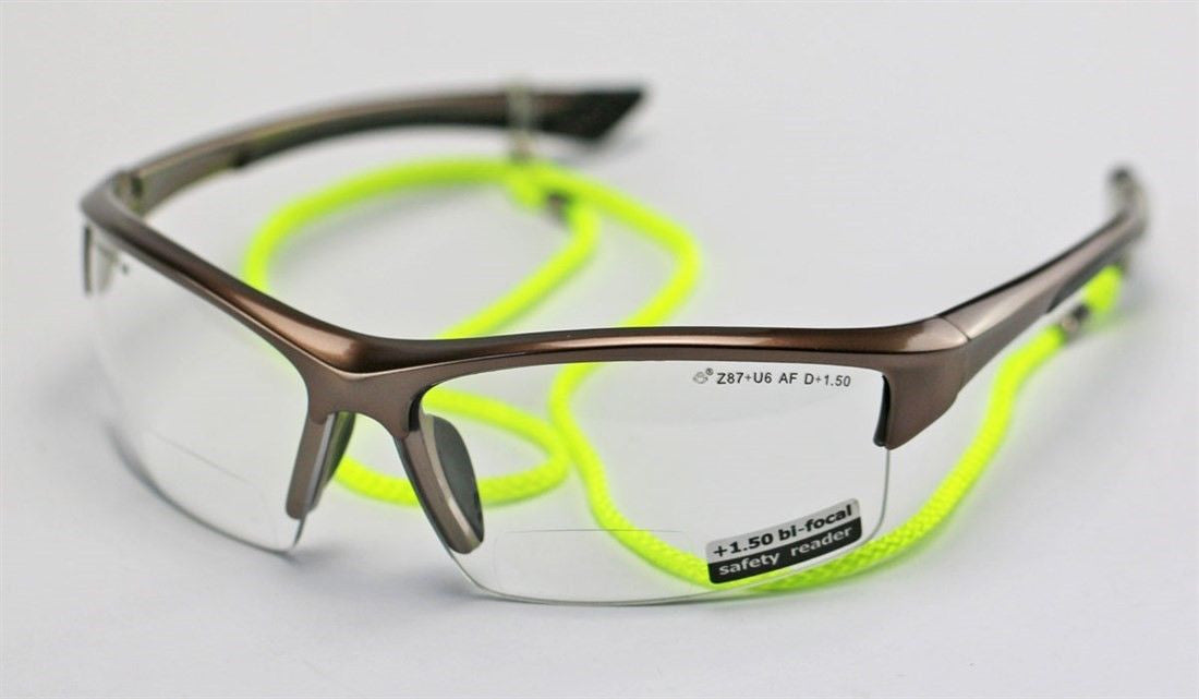 Elvex Sonoma™ RX350™ Bifocal Safety/Reading Glasses Clear 1.0 to 3.0 Mag KIT1