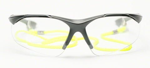 Image of Elvex RX500 Full Lens .75 Magnification Ballistic Rated Safety Glasses with Cord WELRX500C-.75KIT1