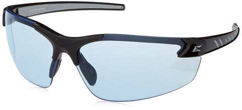 Image of Edge Eyewear DZ113-G2 Safety Glasses, Black with Light Blue Lens